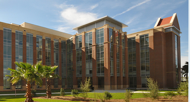 Front view of the UF Emerging Pathogens Institute