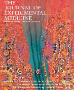 The cover of the Journal of Experimental Medicine web