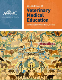 Cover image from the Journal of Veterinary Medical Education
