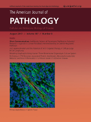 Cover image from the American Journal of Pathology