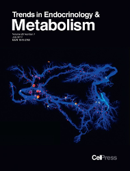 Cover image from Trends in Endocrinology and Metabolism (journal)