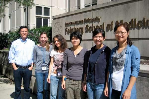 Zhou lab group shot 2011