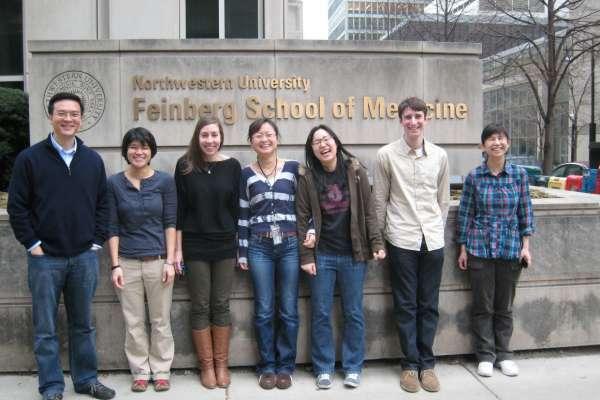 Zhou lab group shot 2012