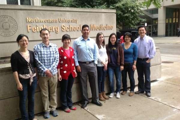 Zhou lab group shot 2013