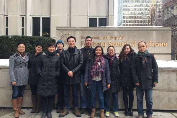 Zhou lab group shot 2014